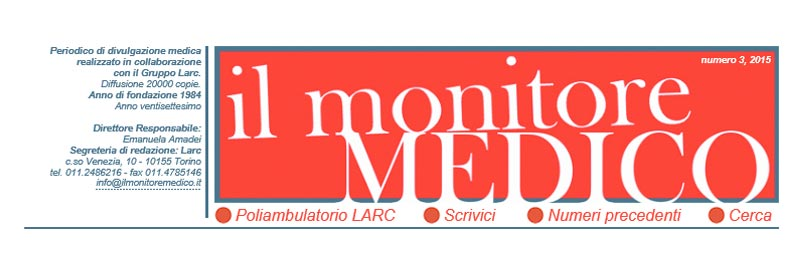 Sito web 'Il Monitore Medico' Solution ScreenShot